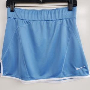 NIKE Light Blue Athletic DriFit Skirt